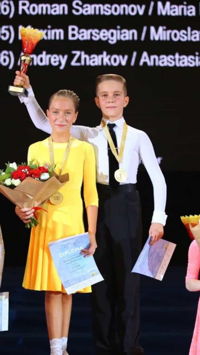 Бальные танцы для детей и взрослых